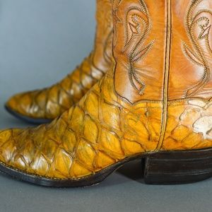 T O Stanley Shoes To Stanley Anteater Custom Cowboy
